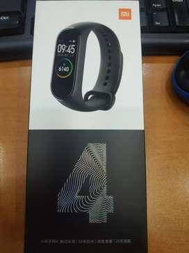 New Mi Band 4 Original Xiaomi Bahasa Indonesia Inggris NewSegel