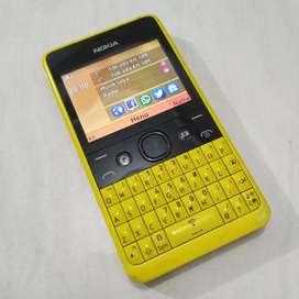 Nokia Asha 210 Yellow ORIGINAL