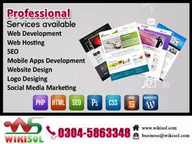 Website designing Development and Web Hosting & SEO Services