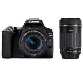 Canon 200D mark 2 Ultra HD 4k camere with 2 lens
