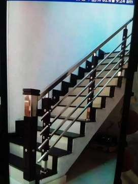 STAINLESS STEEL HANDRAILS,SOPANAM,GATE,GRILL WORKS