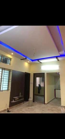 Sale RT Nagar Brand New House G/ F & Second floor 2 bhk each 92 Lakhs