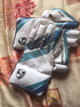 Sg wicket keeping gloves absolute new condition