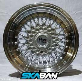 Jual velg racing Ring 15 Untuk mobil Brio, Agya, Datsun (bisa credit)