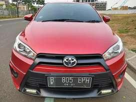 Toyota Yaris TRD sportivo at 2016 merah km 44 rban