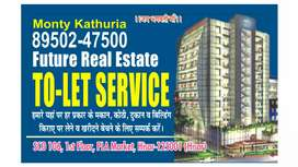 Rent for ground floor 2BHK a in sector 16 17