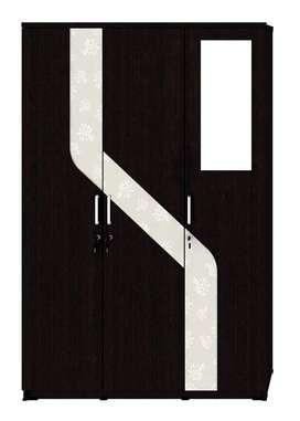 Lemari Pakaian 3 Pintu Activ Spin LP 332 Kaca Luar
