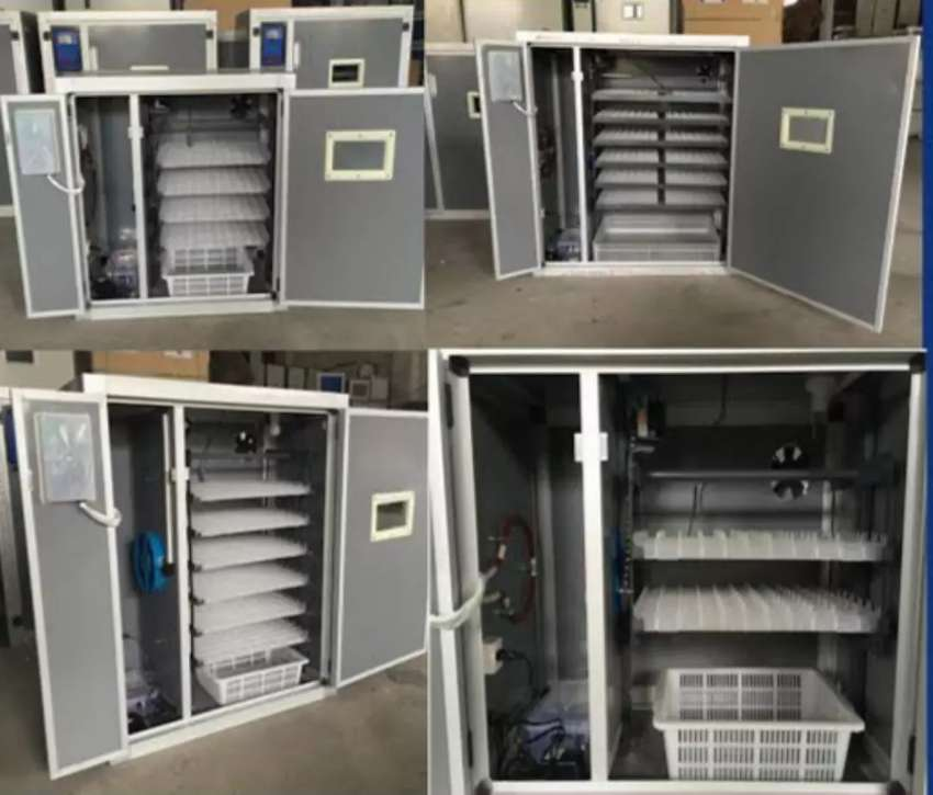 7 to 10000 egg incubator available 0
