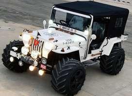 Kaka modified jeeps- open willys jeeps
