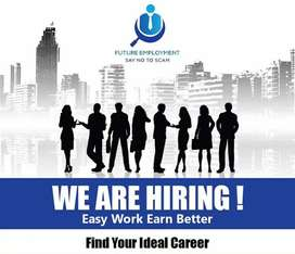 Need a male and female graphic designer for our office at johr town