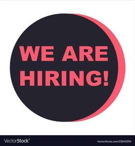 We are required male and female staff for office work