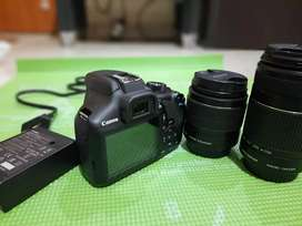 DSLR Camera on Rent with 2 Lens