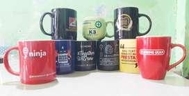 printing souvenir mug termurah di Solo