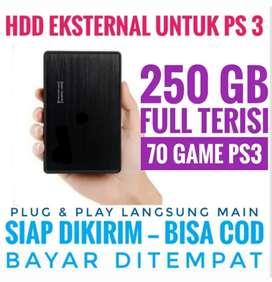 HDD 250GB Mantap Harganya FULL 70 GAME PS3 KEKINIAN Siap Dikirim