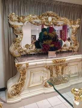 Bufet hias ukir luxuryclass