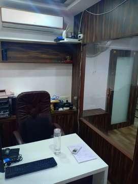Fully Furnished 400 sq feet office rent at ashram road
