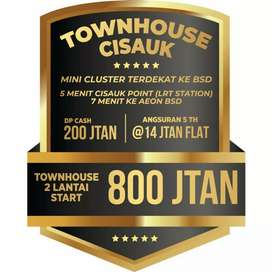 Townhouse 2 Lantai Ready Stock di Cisauk