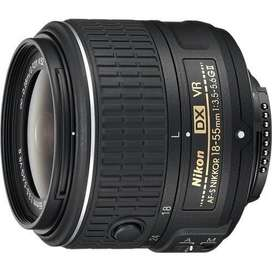 Brand new NIKKOR 18-55mm f/3.5-5.6g VR available for sale