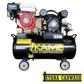 Kompresor Udara IKAME 3 PK Motor Bensin, Hidrolik Cuci Mobil Motor