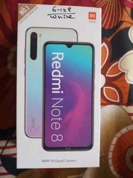 Mi Note 8 new mobile befor 2 month purchase