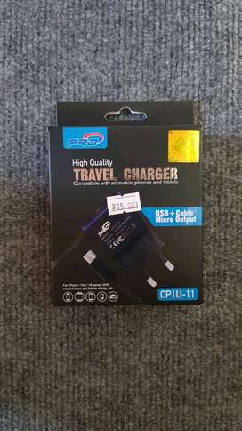 Travel Charger Pro USB + Kabel Micro Murah 2.1 A