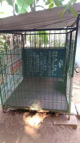 Dog cage full cover