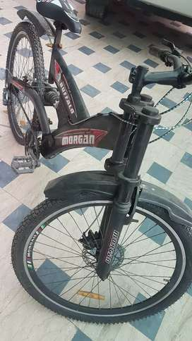 morgan bicycle only one month used..