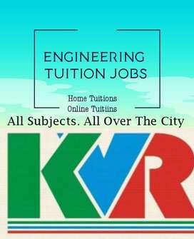 Engineering Tuition Jobs Engineering Tutor Jobs Hyderabad Secunderabad