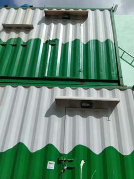 Hotel setup shipping Container