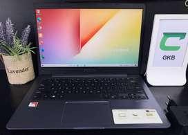 Laptop Asus VivoBook S14 X411QA A12 Radeon R7 garansi sampai September
