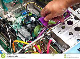 I offer you job as a hardware marketing executive.