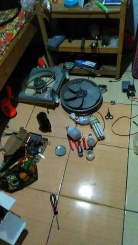 Terima jasa service peralatan elektronik dan rumah tangga