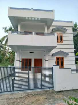 3 bhk 1400 sqft new build house at aluva u.c collage j.n 300 mtr
