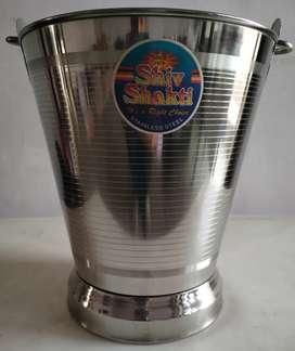 Stainless steel bucket - 10Litre