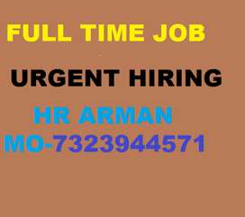 full time job hiring company supervisor store keeper helper