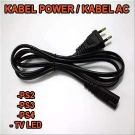 Kabel power ps2 ps3 ps4 dan elektronik lain