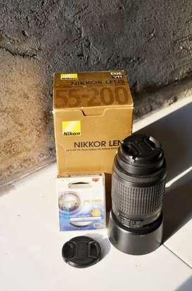 Lensa Nikon 55-200