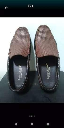 Sepatu kulit pria Patrick cox