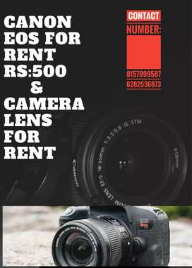Canon EOS for rent