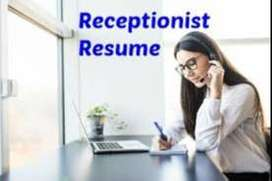 female receptionist ki zarorat hai