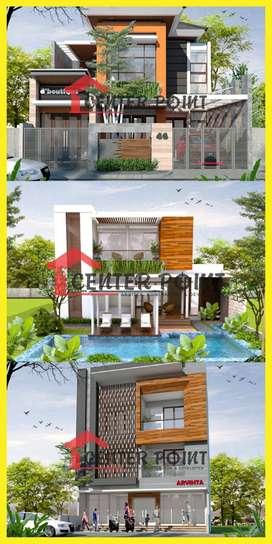 Desain Arsitek Gambar RAB IMB Kontraktor Rumah di Klaten