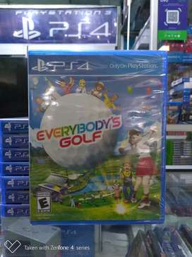Hot Sale Kaset Game Bd Ps4 EveryBody's Golf