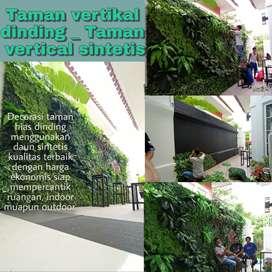 Taman vertikal garden sintetis _Trima pasang taman dinding Trima rapih