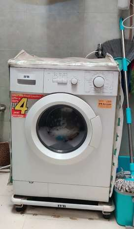 Fully Automatic FrontLoad IFB washing Machine 5.5 kg in Good Condition