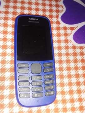 Nokia 105 keypad phone brand new unused with bill
