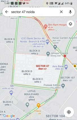 2bhk available in sector 47 Noida