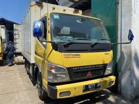 Truck Mitsubishi Colt Diesel Canter Fe 71 110PS Engkel Box Besi 2014