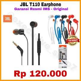Earphone JBL ORIGINAL Product AUDIO Terbest Seller Resmi PT IMS