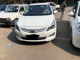 Hyundai verna 2016 model-new like condition