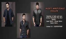 Shirts Wholesale Dealer and Manufacturer in cheap price